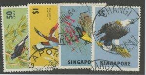 Singapore 66-9 used bird (2110 24)