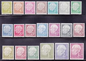 Germany 702-721 VF-NH set cv $275 ! see pic !