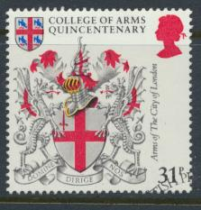 Great Britain  SG 1239 SC# 1043 Used / FU with First Day Cancel - College of ...