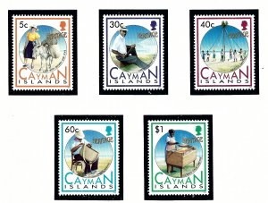 Cayman Is 657-61 MNH 1992 Island Heritage   (KA)