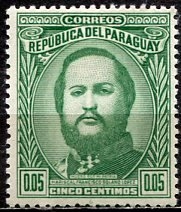 Paraguay; 1947: Sc. # 444: */MH Single Stamp