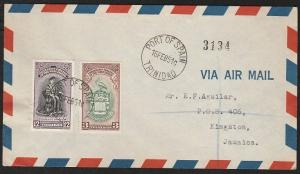 TRINIDAD 1951 University FDC Port of Spain to Jamaica......................59945