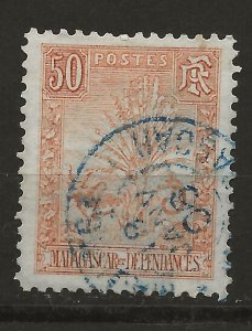 Madagascar 73 Used VF 1903 SCV $25.00 (jr)