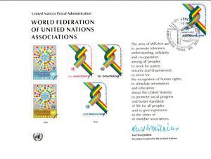 UN SC9 WFUNA Geneva Cancel FDC