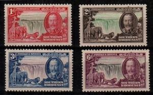 Southern Rhodesia Scott 33-6 Mint hinged (Catalog Value $29.00)