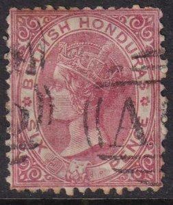 British Honduras 1872 SC 6 Used
