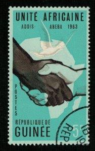 1963, ADDIA - ABEBA, Guinea, 5F (RТ-337)