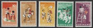 Suriname #B127-B131 MNH Full Set of 5