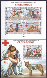 Burundi. 2013. Red Cross. MNH.