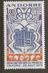 French Andorra #234 Mint