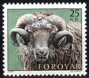 Faroe Islands #42 MNH CV $6.00  (P637)