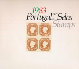 PORTUGAL EM SELOS (IN STAMPS) 1983 - YEAR BOOK