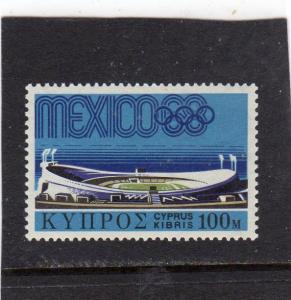 Cyprus Mexico Olympics MNH