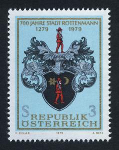 Austria 1125 MNH Arms of Rottenmann, Crest