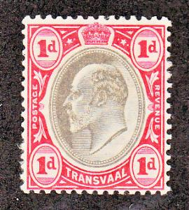 Transvaal Scott #253 MH