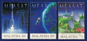 Malaysia Scott # 574-6 Malaysia East Asia Satellite Stamps Set MNH