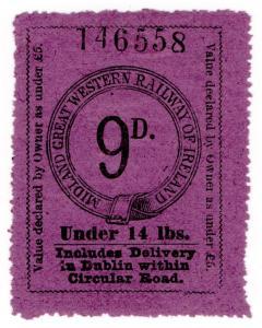 (I.B) Midland Great Western Railway (Ireland) : Parcel 9d