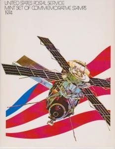USA -1974 SOUVENIR MINT SET-MINI ALBUM LOT#US262