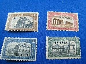 ERITREA  1927   -  SCOTT # B17-B20  -  MH     (He5)