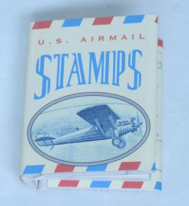 United States Airmail Stamps Tiny Tomes Souvenir Miniature Postage Catalog