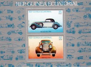 Equatorial Guinea 1979 Rolls Royce Mercedes Benz SS Mi F314