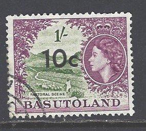 Basutoland Sc # 67 used (DT)