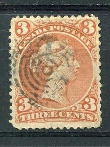 Canada #25a  watermarked and VF