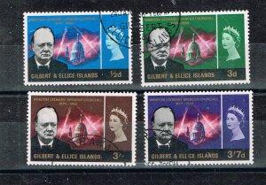 Gilbert & Ellice Islands  1966  106-9  Used