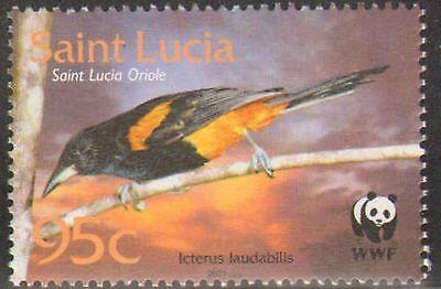 ST LUCIA #1132-1135 MINT NEVER HINGED COMPLETE SET BIRDS
