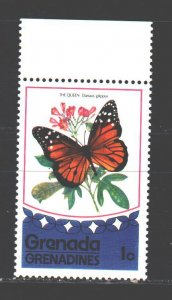 Saint Vincent and the Grenadines. 1975. 79 of the series. Butterflies, insect...
