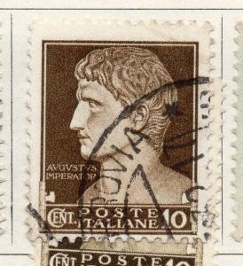 Italy 1929 Early Issue Fine Used 10c. 099635