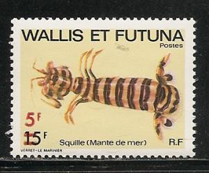 Wallis and Futuna Islands 272 1981 surcharge single MNH