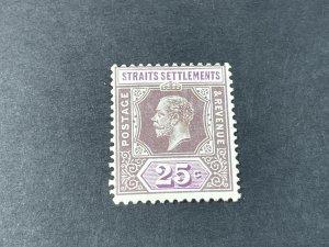STRAITS SETTLEMENTS # 194a--MINT/HINGED----SINGLE----1921-32
