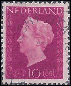 Netherlands #289 1947 Used