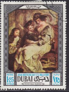 Dubai 99 CTO 1969 Arab Mother's Day