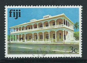 Fiji   QEII SG 582B FU imprint 1988
