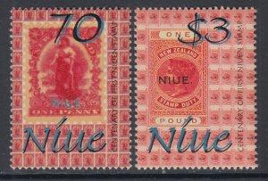 Niue 753-754 MNH VF