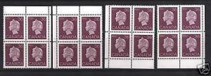 Canada #926a Mint Four Corner Match Set