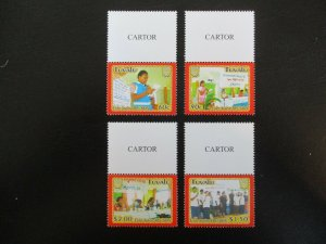Tuvalu #948-51 Mint Never Hinged (M7M4) - Stamp Lives Matter! 2