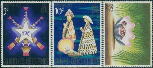 Gilbert & Ellice Islands 1972 SG208-210 Christmas set MNH