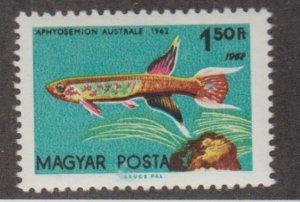 Hungary Scott #1444a Stamp - Mint NH Single