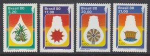 Brazil 1680-3 Energy Conservation mnh