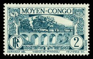 Middle Congo 66 Unused (MH)