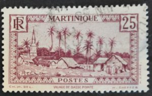 DYNAMITE Stamps: Martinique Scott #141 – USED