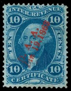 U.S. REV. FIRST ISSUE R33c  Used (ID # 82367)