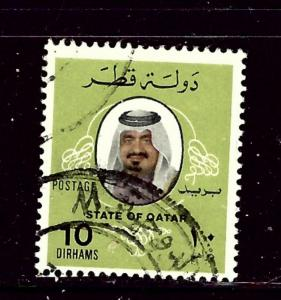 Qatar 545 Used 1979 issue