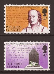 Pitcairn Islands scott #182-83 m/lh stock #14281
