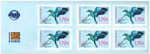 SLOVAKIA/2019 - (Booklet) EUROPA CEPT Rare Birds, MNH