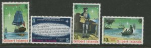 STAMP STATION PERTH Gilbert Is.#300-303 Christmas Issue MNH CV$2.00