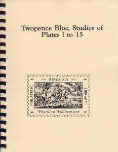 Twopence Blue, Studies of Plates 1 to 15, by H. Osborne, New